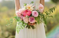 Beautiful Mixed Flower Bridal Bouquet Apryl Ann Photography And Designed By Bows Arrows Weddings