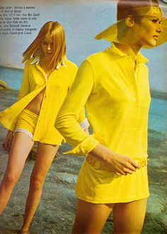 From French issue of Elle magazine which was published way back in May 1967.