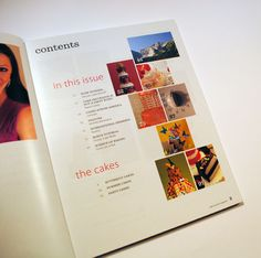 Cake Central Issue 5 table contents