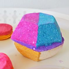 Experimenter bath bomb from Lush Oxford Street