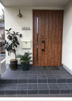 The Best Minimalist Door Design House Doors, House Entrance, Facade House, Main Door Design, Entrance Design, Japanese House, Home And Deco, Architecture Design, House Plans