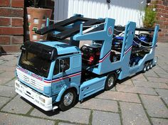 Minster Motors Tamiya Truck R/C Car Transporter | Flickr - Photo ...