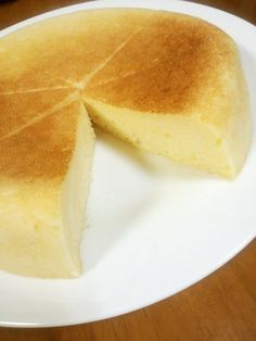 Yogurt Cheesecake with Pancake Mix Made in a Rice Cooker♪