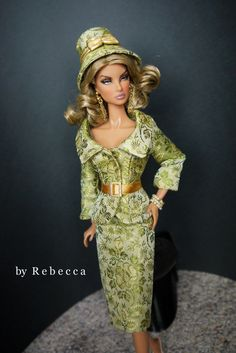 OOAK Fashion for Silkstone Barbie and FR by by Rebeccafashions, $105.00