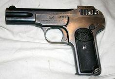 Pistola F.N. Browning Mod.1900 cal. 7.65 mm. | Armas de Fuego