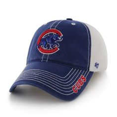 675382ab204 Chicago Cubs Stretch Fit Ripley Closer Cap by  47 Brand