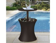 Keter Pacific Cool Bar Rattan Party Cooler $67.00 (hayneedle.com)