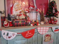 Decking the House - Vintage Christmas
