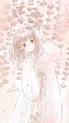 Kawaii Wallpaper, Cute Wallpaper Backgrounds, Cartoon Wallpaper, Cute Wallpapers, Kawaii Art, Kawaii Anime Girl, Anime Art Girl, Pretty Drawings, Art Drawings For Kids