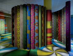 VLISCO UN à UN exhibition by Studio Harm Rensink, Helmond – Netherlands » Retail Design Blog