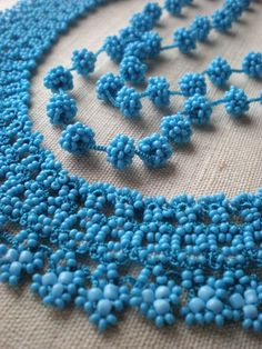 Grace Turquoise / Teal ... Beaded by irregularexpressions
