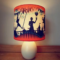 Smaller Circus Carousel Table Lampshade by ButterscotchBeesting, £56.00
