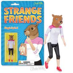 Strange Friends® Maggie Squirrel Action Figure