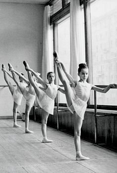 For well over a hundred years, dancers in every part of the world have begun their ballet classes at the barre. From the first step into a ballet classroom, the dancer whether a pre dancer or a chi. Ballet Barre, Ballet Class, Ballet Dancers, Ballerinas, Ballet School, Ballet Kids, Dance Class, Dance Photos, Dance Pictures