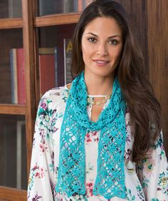 Free crochet pattern - Lacy Crystals Scarf  http://pinterest.com/pin/create/button/?url=http%3A%2F%2Fwww.redheart.com%2Ffree-patterns%2Flacy-crystals-scarf=http://www.redheart.com/files/patterns/primary/LC3166.jpg=Lacy%20Crystals%20Scarf=
