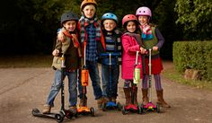 Scooters For Kids & Children: Boys & Girls