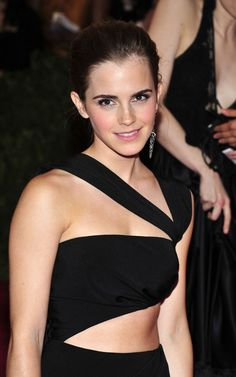 Emma Watson: Black Dress
