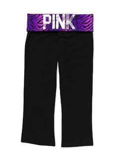 I love these Yoga Crop pants from VS Pink!  $32.50.  They would be perfect for my Yoga class or Zumba!!