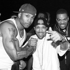 Tical (Method Man) from the Wu-Tang Clan, Redman and LL Cool J. These 3 Hip-Hop artist define in such a way that continues to inspire. Most certainly apart of Hip-Hop history. Best Hip Hop, Hip Hop And R&b, Hip Hop Rap, Ll Cool J, Wu Tang Clan, Music Pics, Rap Music, Rap City, Hip Hop Classics