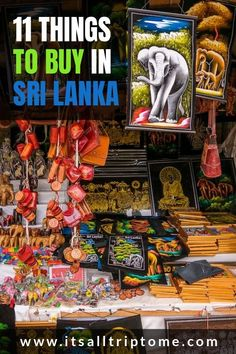 What to buy in Sri Lanka: 11 amazing gift ideas Planning a trip to Sri Lanka? Apart from stunning beaches, breathtaking nature and loads of history, Sri Lanka is also a shopper's paradise. Check out our list of best things to buy in Sri Lanka now! Travel Guides, Travel Tips, Travel Destinations, Budget Travel, Travel Books, Travel Journals, Travelling Tips, Vacation Travel, Beach Travel