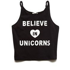Forever 21 Women's  Unicorns Graphic Cutout Tank ($4.99) ❤ liked on Polyvore featuring tops, crop tops, shirts, blusas, tank tops, graphic design shirts, heart cut out shirt, graphic tank tops, cut out shirt and woven shirts