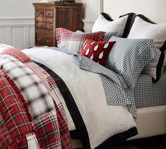 Luxury Bedding Sets On Sale Christmas Bedding, Christmas Home, Christmas Decor, Tartan Christmas, Country Christmas, Christmas 2019, Hotel Bedroom Design, Bedroom Decor, Bedding Decor