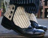 steampunk menswear spats for wedding . etsy.com