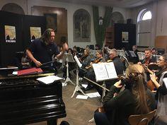 Rehearsal #WarsawChamberphilharmonic for #NewYear #concert #Mozart #Puccini #Rossini #Verdi