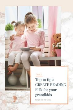 Top 10 tips: create reading fun for your grandkids. Learning to read can be a challenging adventure for some children. It seems that everyone from a child's teacher to Mom and Dad and even Grandma is excited and waiting for the child to learn to read. All the pressure and expectations from the adults can sure put a damper on the excitement for the child. This loss of excitement can lead to a child who loses the desire to read. If we as parents can find ways to make reading fun and enjoyable…