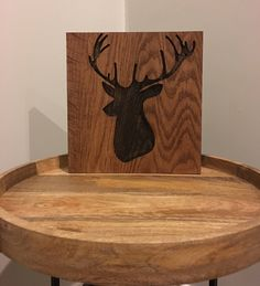 Excited to share the latest addition to my #etsy shop: Deer Sign | Buck Sign | Deer Decor | Christmas Decor | Wall Art | Deer | Buck | Wood Sign | Wood Decor | Wall Art | Rustic Deer|Rustic Decor