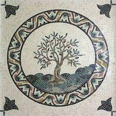 mosaic olive tree - Google Search