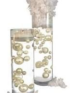 No Hole Ivory Pearls - Jumbo/assorted Sizes Vase Decorations - To Float The Pearls Order The Floating Packs From Options Below photo ideas from NEO Home Decor Pearl Decorations, Outdoor Christmas Decorations, Wedding Decorations, Floating Flowers, Floating Candles, Ivory Pearl, Pearl White, Vases Decor, Centerpieces