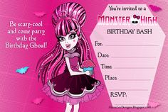 173 Best Sammy Monster High Party Images Monster High Party