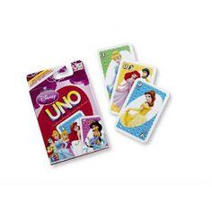 Disney Hercegnők UNO kártya Mattel