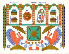 Чудо-белка (игрушка на ёлку) (Детский календарь 1949). Детские книги СССР - http://samoe-vazhnoe.blogspot.ru/