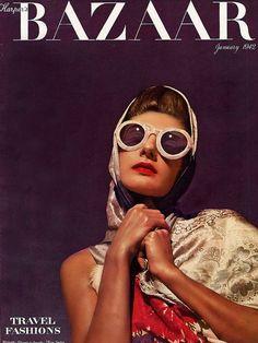 Harper's Bazaar January 1942 // Louise Dahl-Wolfe