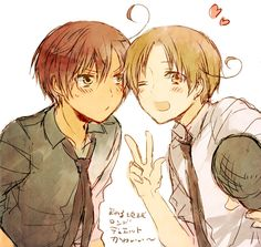 Hetalia - North and South Italy