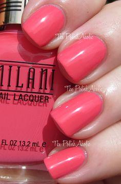 Splendid Strawberry is a dark pink creme.