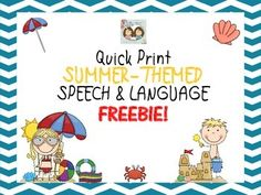 Summer is fast approaching and we wanted to send you off with a fun freebie to use in a summer packet or to use during summer break if you are teaching then too. This freebie contains summer-themed worksheets that can be adjusted to be used with any student.