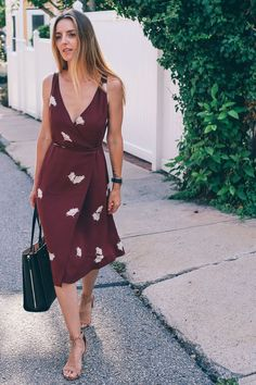 Ann Taylor tossed floral midi dress prosecco and plaid-10
