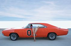 Live a Dukes of Hazard Fantasy with This 1969 Charger General Lee Rental and Daisy Duke - autoevolution Trucks And Girls, Car Girls, Us Cars, Sport Cars, General Lee Car, Dukes Of Hazard, Mopar Girl, 1969 Dodge Charger, Daisy Dukes