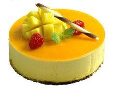 torta mus maracuya y mango