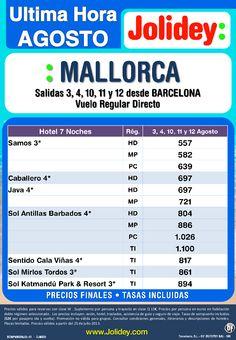 Mallorca Oferta Ultima Hora desde 557€ Tax incl.- 7 Noches Desde BCN 3, 4, 10, 11 y 12  de Agosto - http://zocotours.com/mallorca-oferta-ultima-hora-desde-557e-tax-incl-7-noches-desde-bcn-3-4-10-11-y-12-de-agosto/