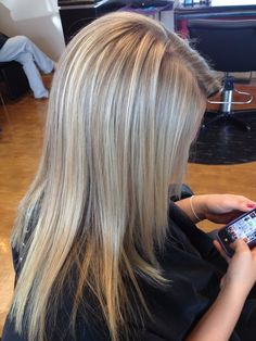 Natural blonde highlights and toner :) by Keriane
