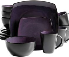 (This is an affiliate pin) Gibson 90902 16RM 16 Piece Reactive Dinnerware