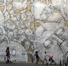 #blu #streetart via https://www.facebook.com/PARQ-magazine-300403065811/?fref=photo