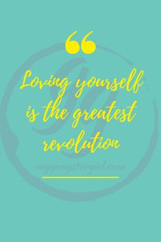 Let's start a #revolution... All you have to do... is LOVE yo-self... and if you don't know how... just follow me!! #mygangstergirl #IAmChiChi You Are The Greatest, Gangster Girl, Motivational Quotes, Inspirational Quotes, Love You, Let It Be, Confidence Building, Encouragement Quotes, Healer