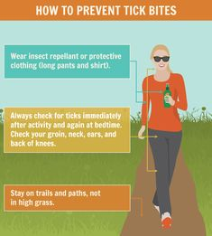 how to avoid getting bit by a tick