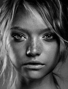 Gemma Ward by Gilles Marie Zimmerman