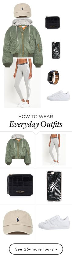"""Everyday outfit"" by gretaburrell on Polyvore featuring adidas Originals, Vetements and Casetify"